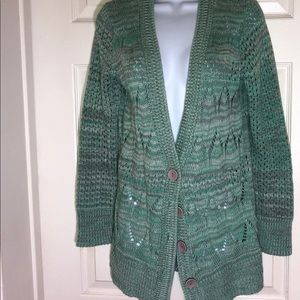 Takeout Women's Knitted Button Down Cardigan